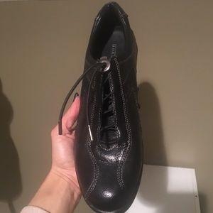 Aravon Shoes - New Aravon Women's Blk Leather Walk Shoes SZ 10B